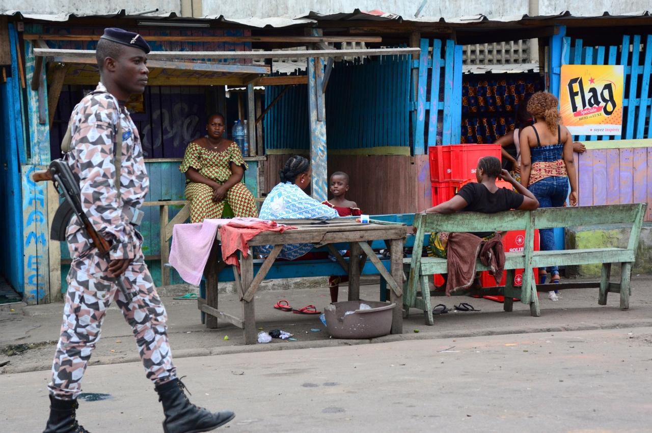Abidjan port, Côted'Ivoire