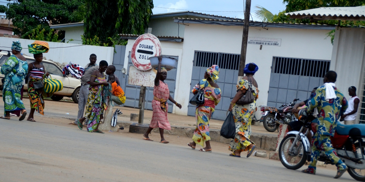 Benin-Togo border crossing