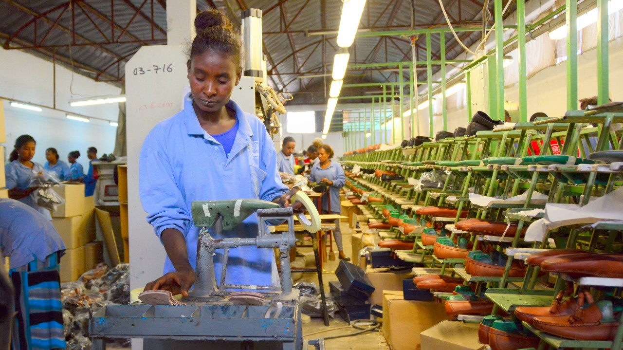 Anbessa Shoe factory, Addis Ababa