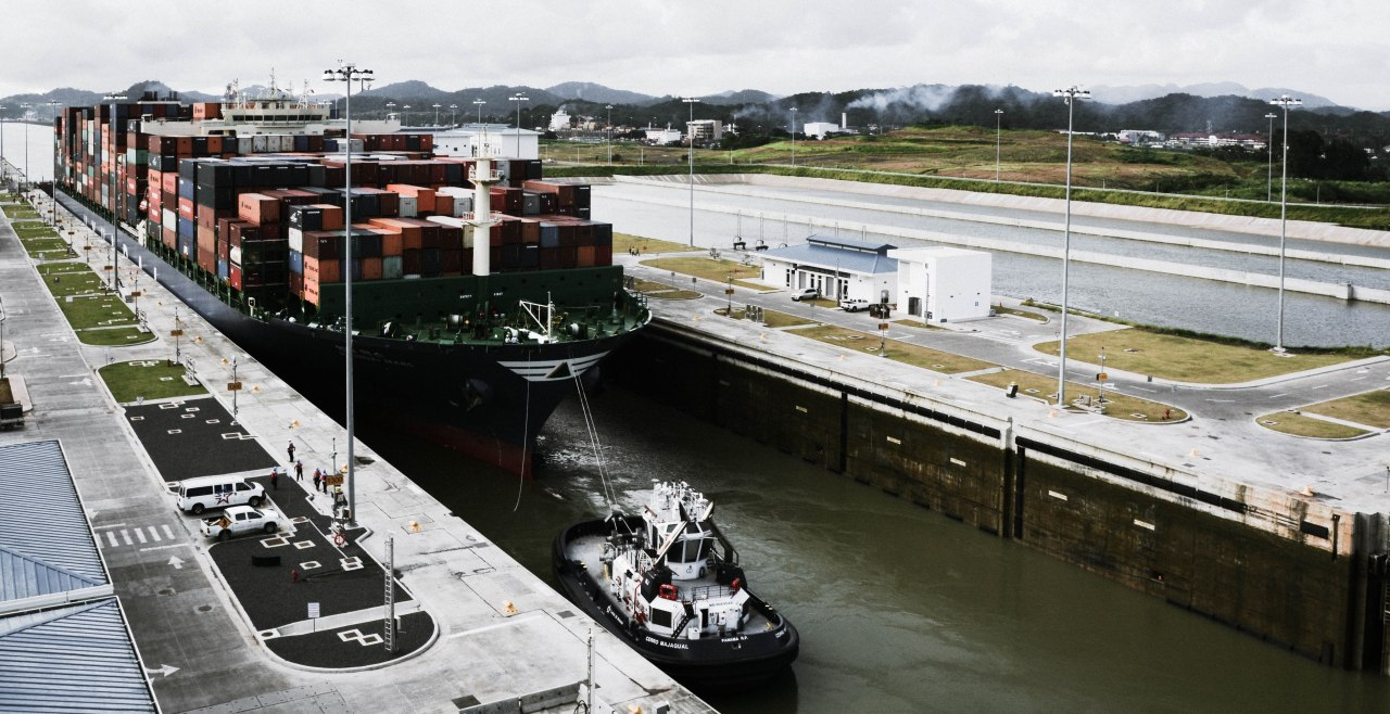 The new Panama Canal locks, Cocoli